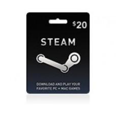 Steam Wallet 20$